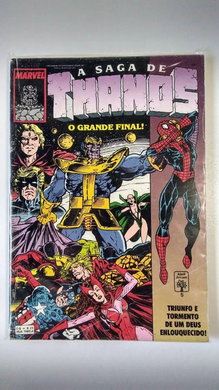 A Saga De Thanos Nº5 - Abril
