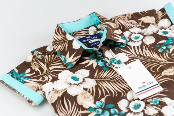 Increibles Camisas Para Niño Tropical Palmeras Hawaiana
