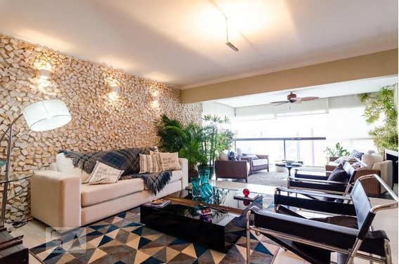 Apartamento No 9º Andar Com 4 Dormitórios E 2 Garagens - Id: 892957919 - 257919