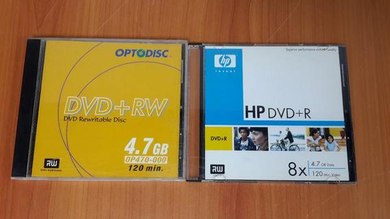 Dvd+r Hp 8x 4.7gb 120min Nuevo Precio Unidad