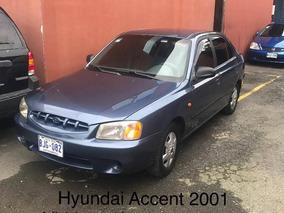 Hyundai Accent 2001 Recibo Y Financio Full Extras V/e A/c