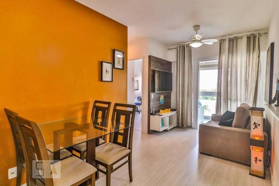 Apartamento No 6º Andar Mobiliado Com 2 Dormitórios E 1 Garagem - Id: 892964283 - 264283