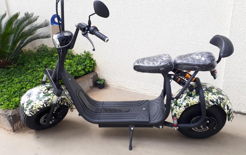 Patinete Moto Scooter Elétrico Bateria Removível 12ah Moto