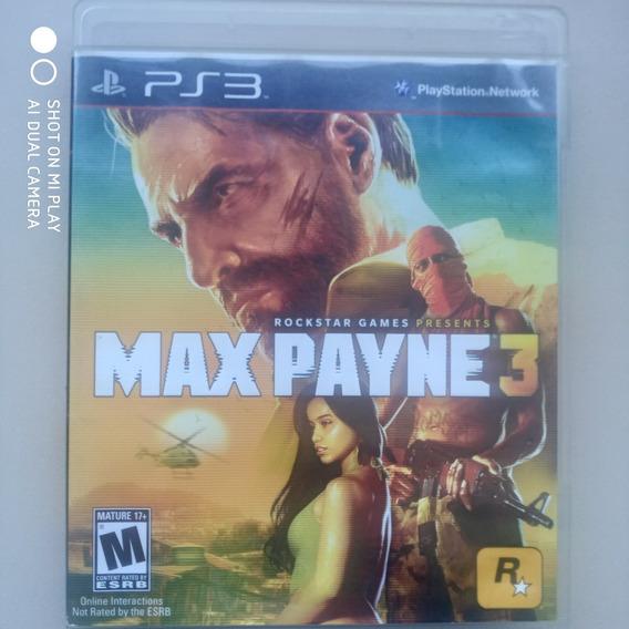 Jogo Ps3 Max Payne 3 Original Midia Física Usado Seminovo