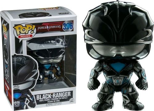 Power Rangers Black Ranger  Funko Pop #396