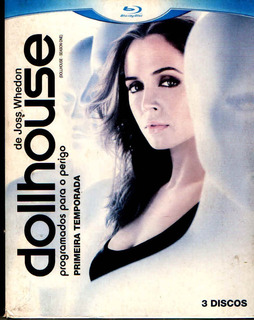 1ª Primeira Temp Dollhouseada - Box Original - Bluray