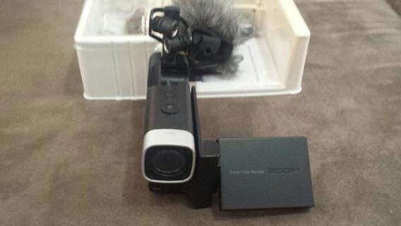 Filmadora Zoom Q4 Gravação Ao Vivo Stereo