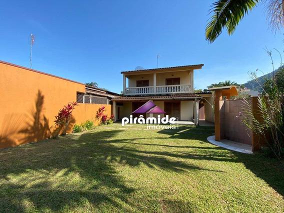 Casa Com 2 Dormitórios À Venda, 160 M² Por R$ 600.000,00 - Praia Do Lázaro - Ubatuba/sp - Ca3420