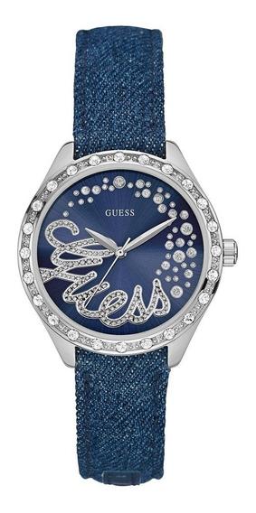 Relógio Guess Original Pulseira Jeans - 92568l0gtnc1