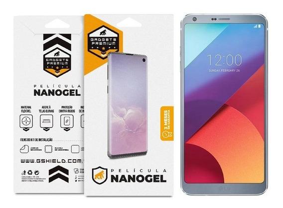 Película Nano Gel Dupla Para LG G6 Gorila Shield