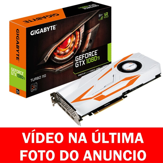 Gigabyte Geforce® Gtx 1080 Ti Turbo 11g