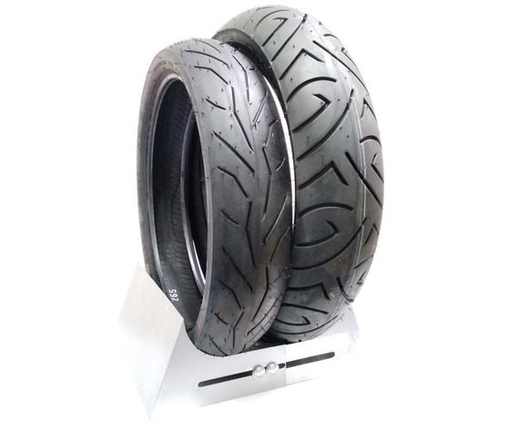 Par Pneu Cbx 250 Twister Ys 250 Fazer Cb300 Pirelli 0602