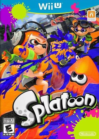 Jogo Original Nintendo Wii U Splatoon Lacrado Novo