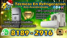 Tecnicos En Refrigeracion Y Aire Acondicionado