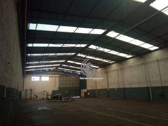 Galpão Para Alugar, 600 M² Por R$ 7.000,00/mês - Cidade Industrial Satélite De São Paulo - Guarulhos/sp - Ga0055