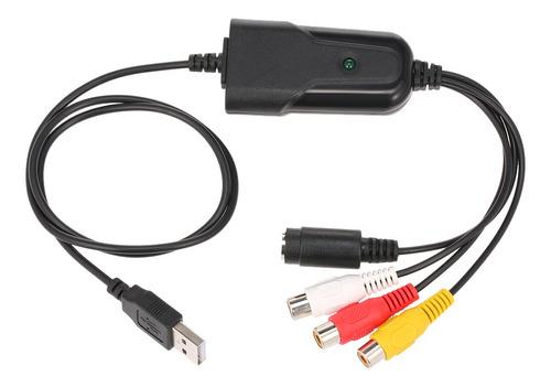 Portable Usb 2.0 Video Audio Capture Gravador De Vdeo