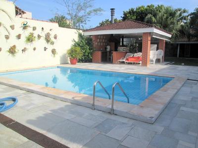 Casa Para Alugar No Bairro Enseada Em Guarujá - Sp. - Enl02-3