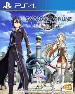 Juego Ps4 Sword Art Online Hollow Realization