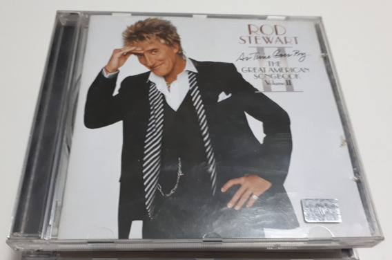Cd Rod Stewart As Time Goes By: The Great American Songbook