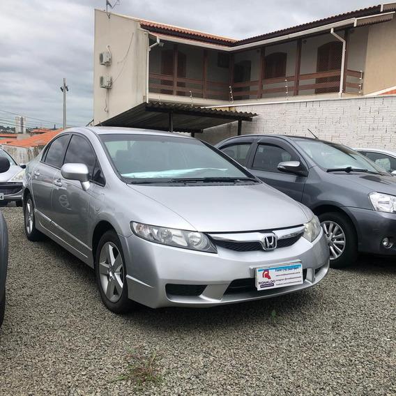 Honda Civic 1.8 16v 4p Flex Lxs Automático