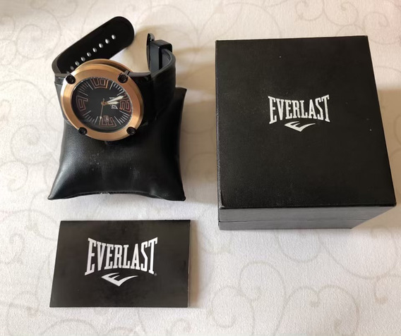Relógio Everlast Original Em Aço Escovado