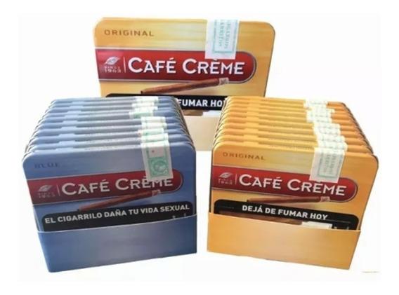 Promo Cafe Creme Cigarros Pack X 10 Cajas