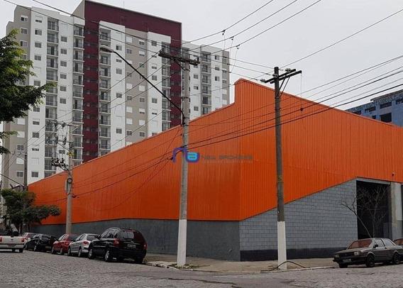 Galpão Comercial À Venda, Vila Independência, São Paulo. - Ga0390
