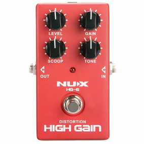 Pedal Nux Hg-6 Distortion