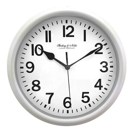 Reloj De Pared Esterlina Y Noble 22.3cm Analog Display