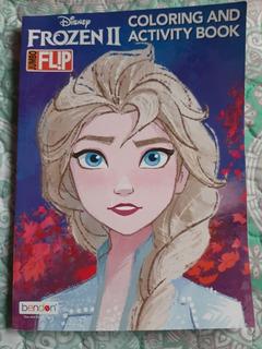 Libro De Colorear Y Actividades Jumbo De Frozen 2 64 Pag