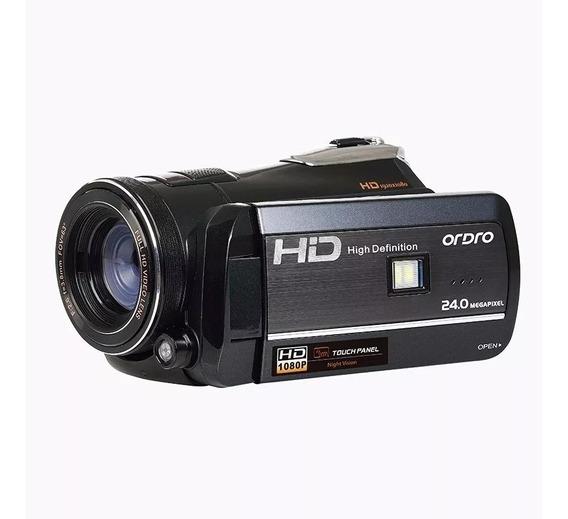 Câmera,digital Semi ,profissional, Com Visão Noturna Ful Hd