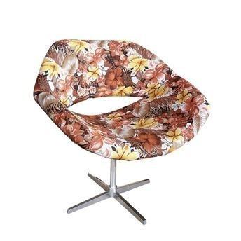 Cadeira Decorativa Poltrona Decorativa - Várias Estampas -