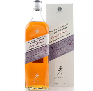 Whisky Johnnie Walker 12 Años Sherry Cask De Litro Especial