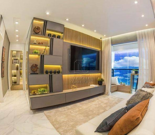 Imagem 1 de 30 de Apartamento Com 2 Dormitórios À Venda, 56 M² Por R$ 415.000,00 - Campestre - Santo André/sp - Ap12255
