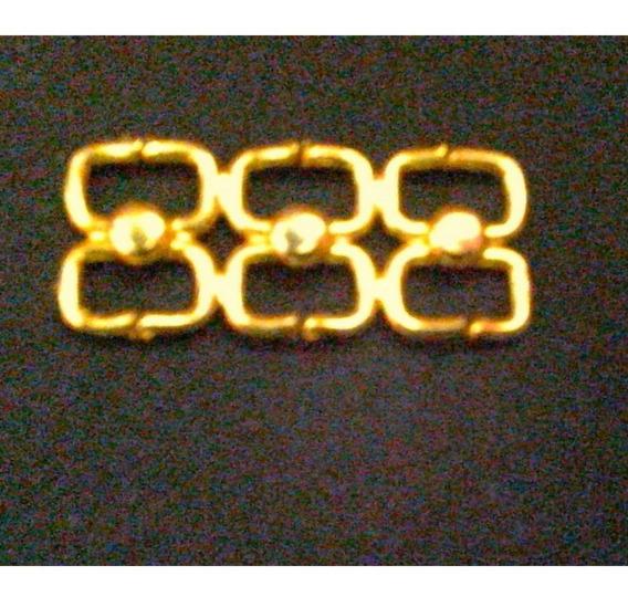 Aia-731 Herraje Dorado 20mm Por 100unidades