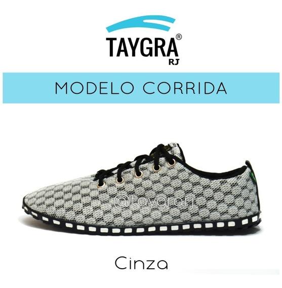 Taygra Modelo Corrida Cinza