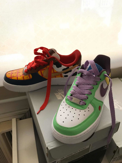 Tênis Nike Air Force 1 Costumizado Toy Story