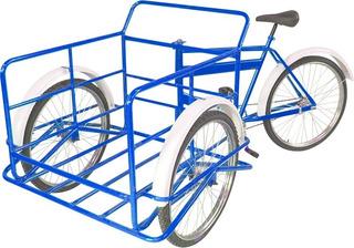 Triciclo De Carga Monk Trabajo Rodada 26