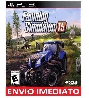 Farming Simulator 15 Ps3 Psn Mídia Digital Envio Agora
