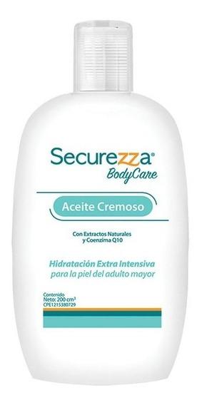 Aceite Cremoso Securezza Bodycare Caja 10 Und 200 Cc C/u