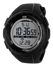Relógio Masculino Skmei Digital 1025 Preto Espot Led