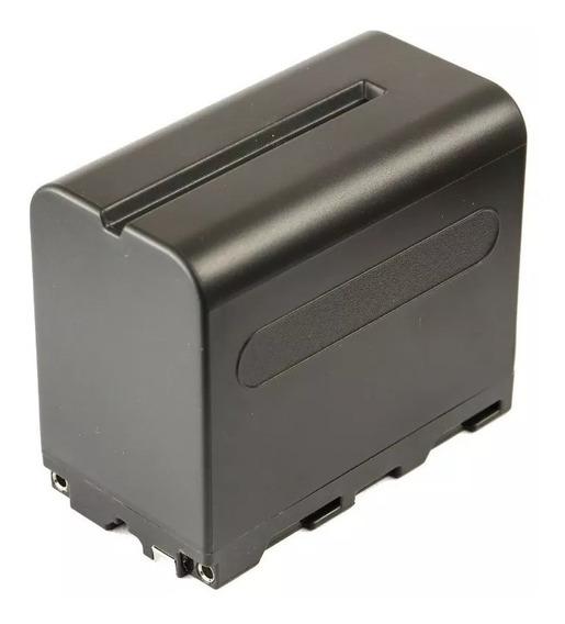 Bateria Np - F 970 Para Led E Ring Light + Carregador