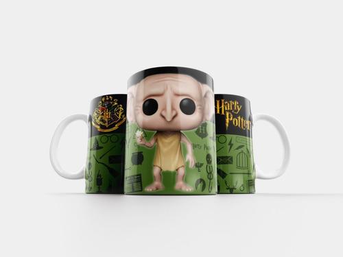 Caneca Harry Potter Ceramica Varios Personagens  + Nf