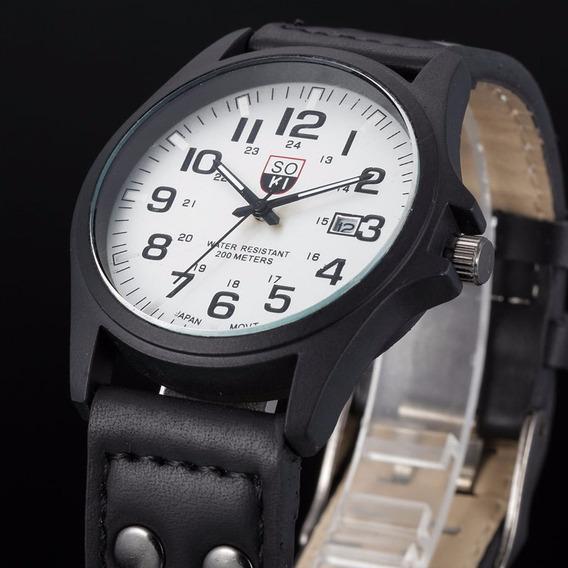 Relógio Masculino De Marca Bonito Barato Esportivo Simples