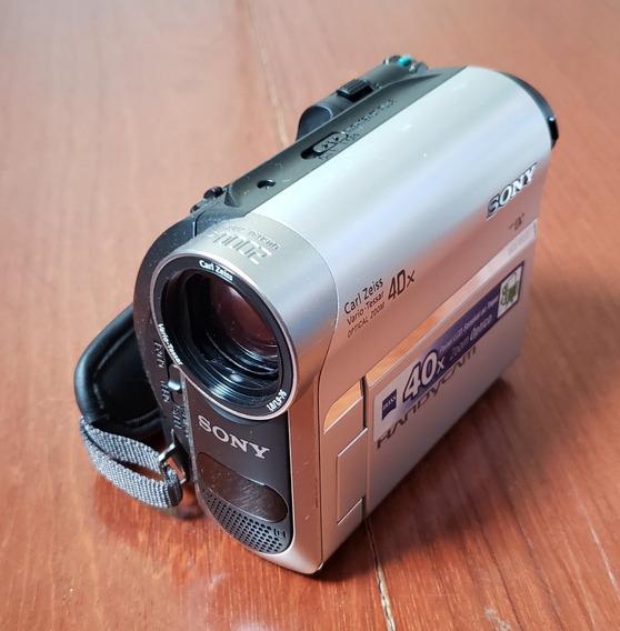 Câmera De Vídeo Digital Sony Handycam Dcr-hc52