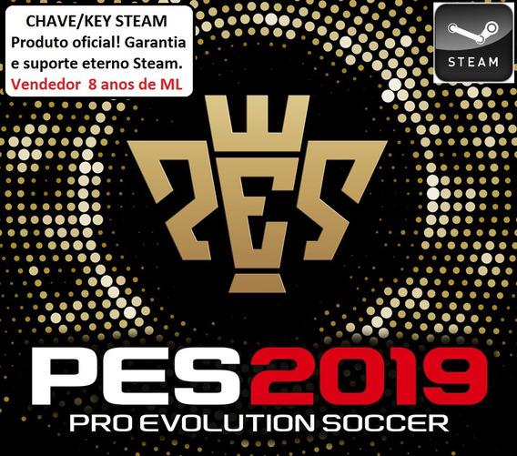 Pro Evolution Soccer 2019 Pc Steam Key Pt Br Pague Em 12x