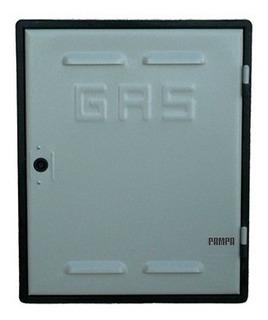 Puerta P/nicho De Gas Chapa Marco Pvc Reforzado 40 X 50