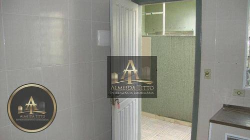 Imagem 1 de 24 de Casa Com 1 Dormitório Para Alugar, 30 M² Por R$ 1.200,00/mês - Jardim Iracema - Barueri/sp - Ca2804