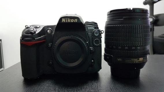 Nikon D300s Com Lente 18-105
