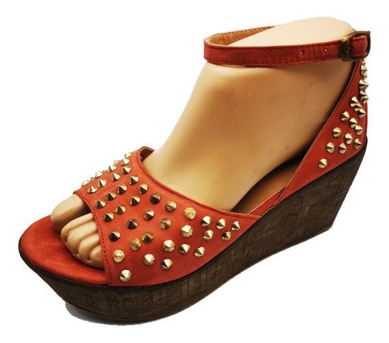 Zapato Moda Tachas Calado Pulsera Únicos Traza Z301